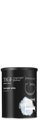 TIGI copyright©olour True Light White