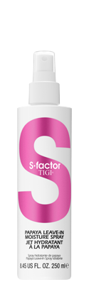 TIGI S FACTOR papaya spray moisture