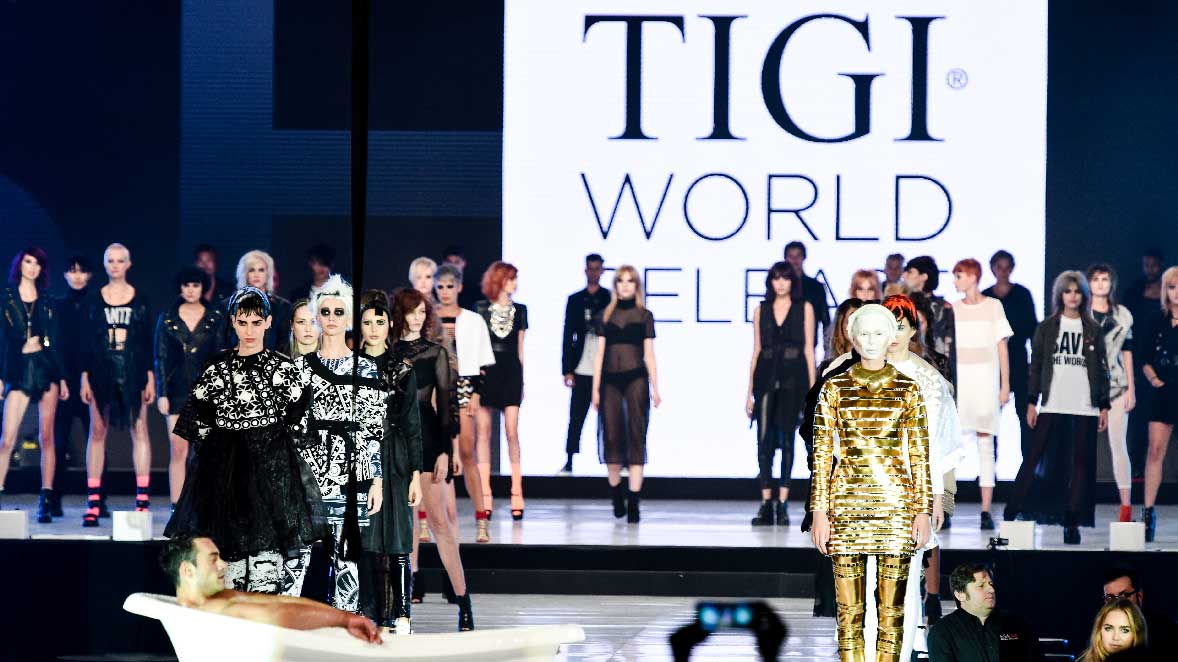 TIGI WORLD RELEASE VEGAS 2015